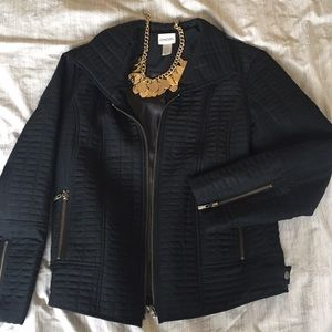 Quilted Chico's Moto Jacket